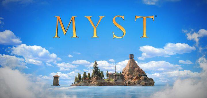 Myst gamecover
