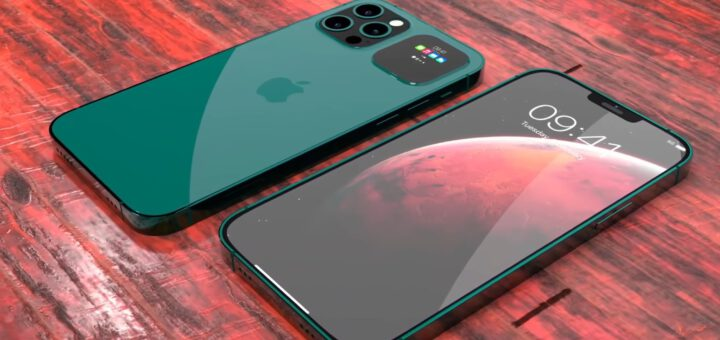 stunning concept envisions iphone 13 pro with secondary screen on the back 533745 2