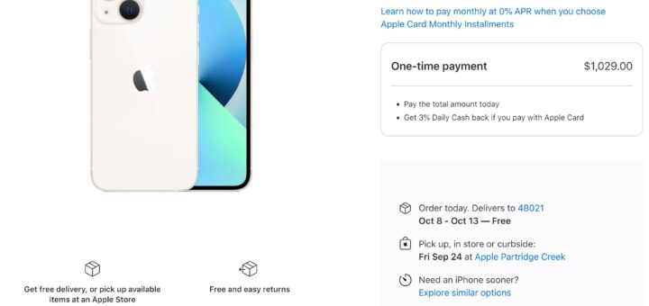iphone 13 starts shipping for buyers in the u s 534068 2